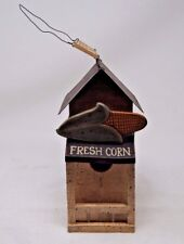 Decorative Byrd's Fresh Vegetables Bird House (ymtass)