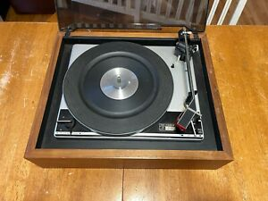 VINTAGE THE FISHER 302 TURNTABLE WESTERN GERMANY PE 2035 PLEASE READ