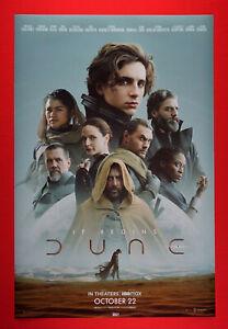 Dune 2021 Timothée Chalamet Batista Momoa Picture Movie Poster 24X36 New   DUNE