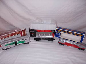K-LINE 5428, 6629 & 648103 FREIGHT CARS IN ORIGINAL BOXES LOT L-131