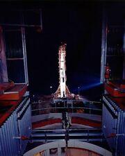 Apollo 13 Saturn V Mond Rakete Nasa 8x10 Silber Halogen Fotodruck