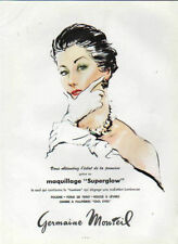 """Publicité Advertising maquillage """" Superglow """" Germaine Monteil"""