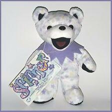 Grateful Dead Plush Dancing Bear Beanie Baby Spinner 7th Ed B-Day Jan 14 1967
