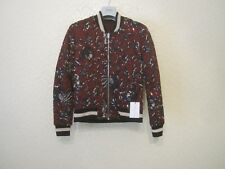 Isabel Marant Etoile Dabney Embroidered Reversible Bomber Jacket French size 36