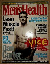 MEN'S HEALTH MAGAZINE - DAN CARTER NEW ZEALAND RUGBY MARCH 2009