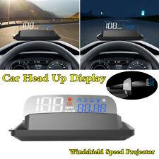Car HUD Head Up Display Overspeed Warning OBD 2 Windshield Speedometer Projector