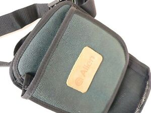 """Allen Padded Ammo Shell Bag w/Adjustable 2 """" Strap Green  9 x 15"""" NEW"""