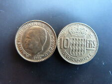 Pièce monnaie MONACO 10 Francs 1950 RAINIER III bon état
