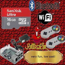 Retro Gaming Emulator, Two controllers, Free Shipping, Wifi enabled, 16GB
