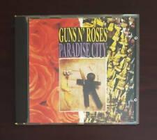 GUNS N' ROSES PARADISE CITY CD New York 1988 rock axl rose slash