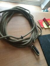 HANDMADE 6 METRE EX LONG TRAINING SLIP LEAD FOR DOGS for recall and steadying.