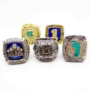 5 pcs Basketball National world series Championship ring size 11