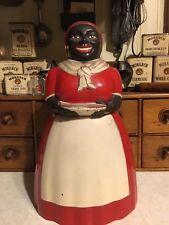Aunt Jemima Cookie Jar F&F Plastic 1950's RARE!!