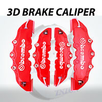 NEW 4Pcs Red Disc Brake Caliper Covers Kit For Nissan Altima Maxima Quest Rogue