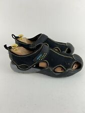 Crocs Swiftwater Men's 10 Hiking Water Sport Sandals Black Medium 15042