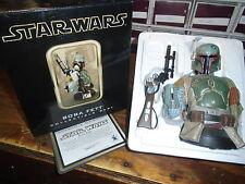 Star Wars Gentle Giant Mini Bust COA Limited Edition Boba Fett #865/7500