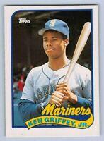 1989  KEN GRIFFEY JR. - Topps Traded ROOKIE Baseball Card # 41T SEATTLE MARINERS