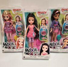 MOXIE GIRLZ Girls READY TO SHINE  Set lot of 3 Avery Sophina Lexa