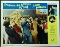 Gina Lollobrigida as Lady Godiva LOT 2 Original 1963 Lobby Cards Hudson