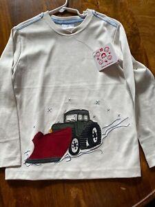 Hanna Andersson boys 120 long sleeve T-shirt NWT