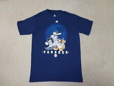 New York Yankees Disney Mickey Goofy Donald Pluto T Shirt Size S Rare Unique Htf