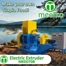 ELECTRIC EXTRUDER TO MAKE YOUR OWN TILAPIA FISH FOOD - MKED070B (FREE SHIPPING)