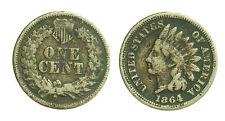 pci1480) US Indian Head Cent (Penny) 1864  Cu - Ni