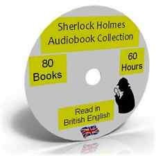 Sherlock Holmes Complete Audiobook Collection MP3 DVD ,Sir Arthur Conan Doyle