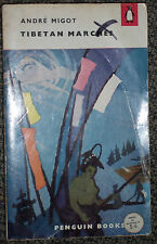 Penguin Book 1250 Tibetan Marches by Andre Migot 1957 Travel Indo-China Tibet