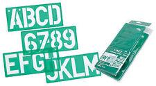 Linex Lettering Stencil - 100mm (10 Piece Set)