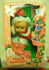 #3501 NRFB Vintage Mattel Holiday Magic Nursery Doll