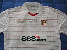 RARE~Joma SEVILLA FC Spain UEFA SUPERCUP Soccer Football shirt Jersey Top~Men XL