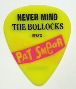 Pat Smear FOO FIGHTERS Never Mind The Bollocks guitar pick 2021 Seattle Benefit