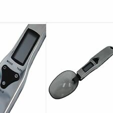 LCD Digital Spoon Scale Kitchen Food Flour Weight Cooking Tools Stainless Steel