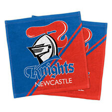 Newcastle Knights Set of 2 Face Towels. *BNWT*