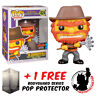 FUNKO POP THE SIMPSONS EVIL GROUNDSKEEPER WILLIE NYCC 2019 EXCLUSIVE + PROTECTOR