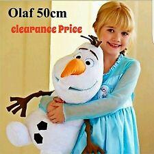 "Original Disney Frozen Olaf Snow man Snowman Plush Soft Stuffed Doll Toy 20"""