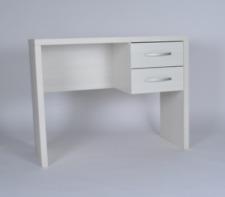 Dakota 2 Drawer Desk White Effect