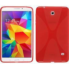 Funda de silicona Samsung Galaxy Tab 4 8.0 X-Style rojo