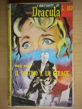 Il destino e la strageDave MaxERP 1962i racconti di dracula29 horror 48 *