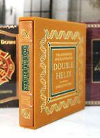 DOUBLE HELIX  DELUXE LTD ED - Easton Press - JAMES D WATSON 🖋SIGNED🖋