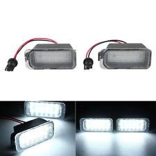 2x Weiß LED Kennzeichenbeleuchtung Für Ford Focus 2 3 CMAX Fiesta 6 Jaguar XJ XF
