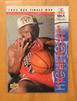 Michael Jordan 1993-94 Upper Deck NBA Finals MVP He's Back Parallel #204 Bulls
