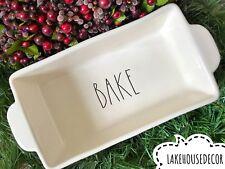 Rae Dunn Bake Dish Pan Loaf Baking Ceramic Kitchen Farmhouse Summer Home Decor