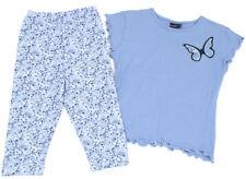 MILLS Capri-Leggings und T-Shirt blau Schmetterling - 128