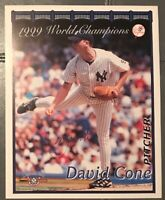 DAVID CONE AUTOGRAPHED SIGNED 8x10  PHOTO NEW YORK YANKEES