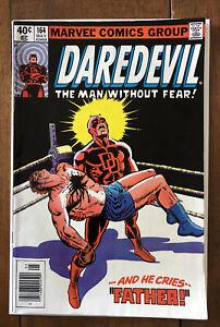 Marvel Comics Daredevil (1st Series) #164 1980 Frank Miller Art FN+ 6.5
