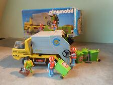 Playmobil 3780 Camion poubelle vintage en boîte