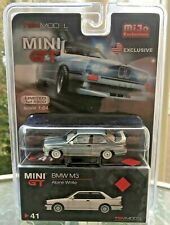 MiJo TSM Model MINI GT 1:64 scale BMW E30 M3 Raw Metal Chase Treasure Hunt Model