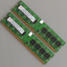 Hynix 2GB 2X1GB DDR2-800 PC2-6400 240pin 800mhz Desktop Memory RAM DIMM
